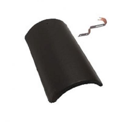 újHáz Standard Kúpcserép Elegant fekete 1.